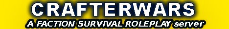 CrafterWars (Factions-Survival-Roleplay server) No P2W - Free PvP Kit For Noobs