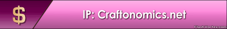 Craftonomics - Fun, Dynamic Political Economy - MCMMO - Player Shops -...