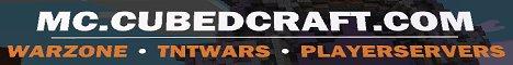 CubedCraft - Free Servers - TNTWars - Warzone