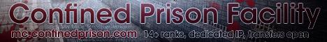 Confined Prison Facility [1.7 - 1.12]  Classic Prison Server  Separate Prestige...
