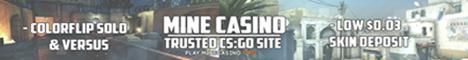 MineCasino.org  CSGO Skin Gambling Min. Deposit: 0.03  18