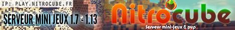 Nitrocube  Serveur Mini Jeux Minecraft