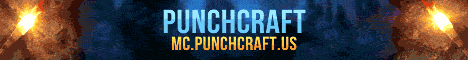 Punchcraft a Towny Survival Server